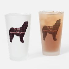 BFF Pyrenean Shepherd Pint Glass