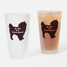 BFF Tibetan Spaniel Pint Glass