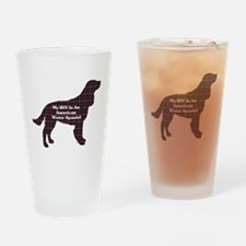American Water Spaniel Pint Glass