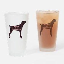 BFF Mountain Cur Pint Glass