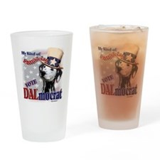 DALmocrat Pint Glass