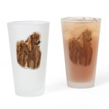 Golden Retriever Art Pint Glass