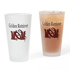 Golden Retriever Mom Pint Glass