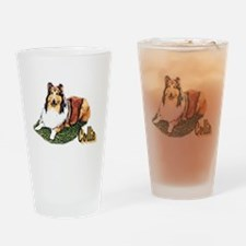 Rough Collie Gifts Pint Glass