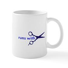 Runs with Scissors Small Mug