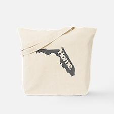 Florida - Home - Gray Tote Bag