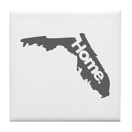 Florida - Home - Gray Tile Coaster