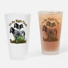 Bluetick Coonhound Pint Glass