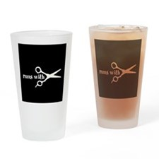 Runs with Scissors Pint Glass