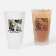 Goldendoodle Pint Glass