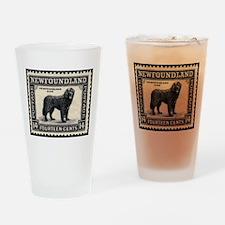 Vintage Newfoundland Postage Drinking Glass