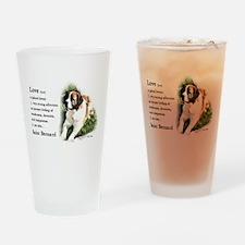 Saint Bernard Gifts Pint Glass