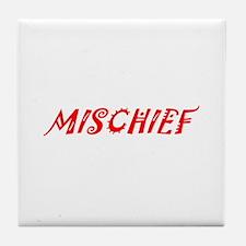 Mischief Tile Coaster