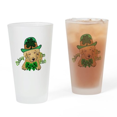 St. Pats Labrador Pint Glass