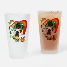 Paddys English Bulldog Pint Glass