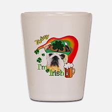 Paddys English Bulldog Shot Glass