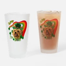St. Patty Yorkie Pint Glass