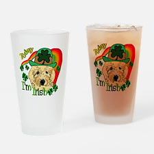 St. Patricks Goldendoodle Pint Glass