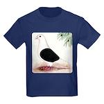 Saddle Homing Pigeon Kids Dark T-Shirt