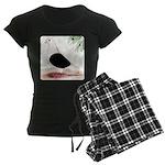 Saddle Homing Pigeon Women's Dark Pajamas
