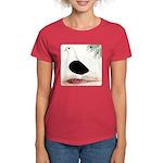 Saddle Homing Pigeon Women's Dark T-Shirt