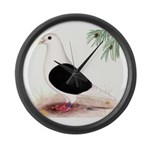 Saddle Homing Pigeon Large Wall Clock