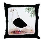 Saddle Homing Pigeon Throw Pillow