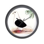 Saddle Homing Pigeon Wall Clock