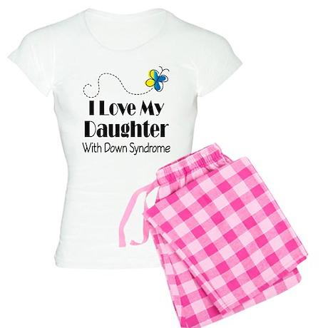 Down Syndrome Daughter Women's Light Pajamas