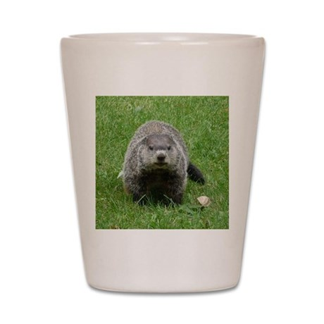 Groundhog (Woodchuck) Shot Glass