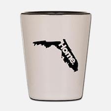 Florida - Home - Black Shot Glass