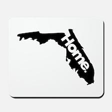 Florida - Home - Black Mousepad