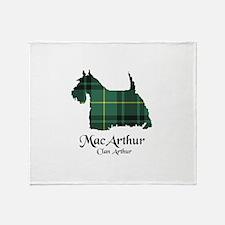 Terrier - MacArthur Throw Blanket