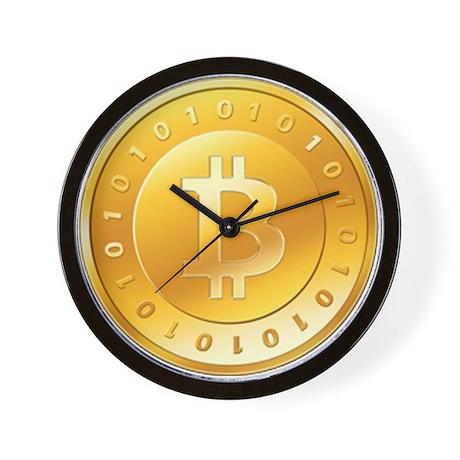 Bitcoins-1 Wall Clock