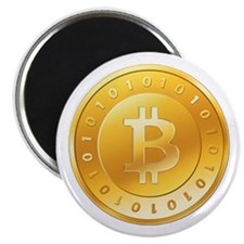 "Bitcoins-1 2.25"" Magnet (100 pack)"