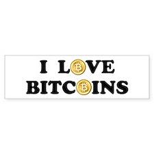 Bitcoins-2 Bumper Sticker