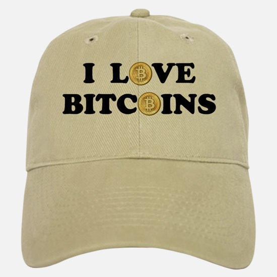 Bitcoins-2 Baseball Baseball Cap