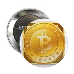 "Bitcoins-3 2.25"" Button (10 pack)"