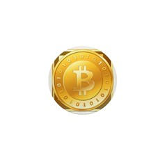 Bitcoins-3 Mini Button (100 pack)