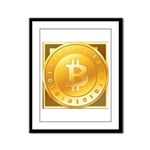 Bitcoins-3 Framed Panel Print