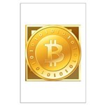 Bitcoins-3 Large Poster