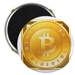 Bitcoins-3 Magnet