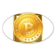 Bitcoins-3 Decal