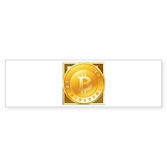 Bitcoins-3 Bumper Sticker