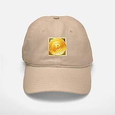 Bitcoins-3 Baseball Baseball Cap