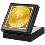 Bitcoins-3 Keepsake Box