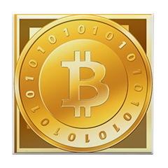 Bitcoins-3 Tile Coaster
