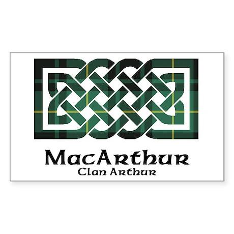 Knot - MacArthur Sticker (Rectangle)