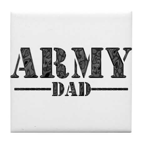 ARMY DAD Tile Coaster