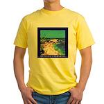 Calm Sea at La Jolla Yellow T-Shirt